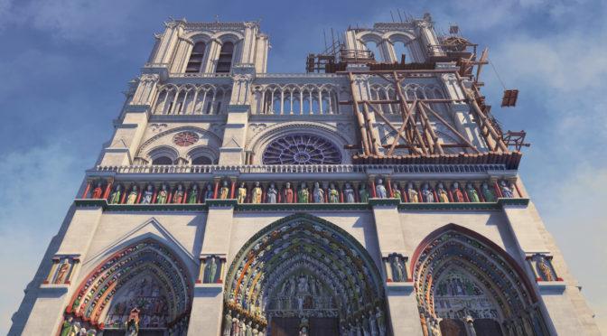 DVDノートルダム大聖堂 誕生と再生の物語